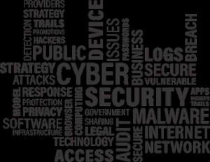 image avec mots mêlés et mots en gras plus voyant comme internet, cybersecurity, business, strategy