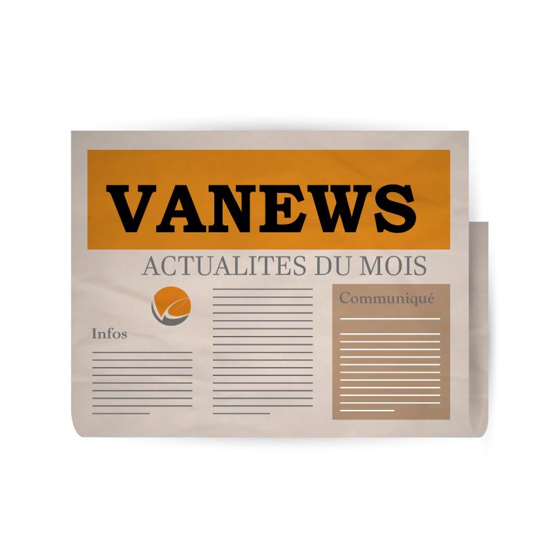 En-tête d'un journal avec le logo VANEXPERT